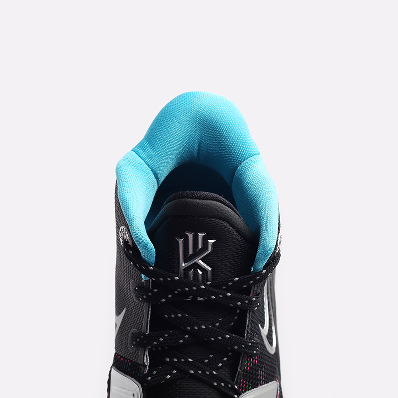 женские чёрные  кроссовки nike kyrie 7 (gs) CT4080-008 - цена, описание, фото 5