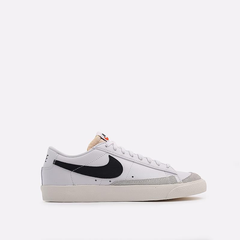 мужские белые  кроссовки nike blazer low '77 vntg DA6364-101 - цена, описание, фото 1