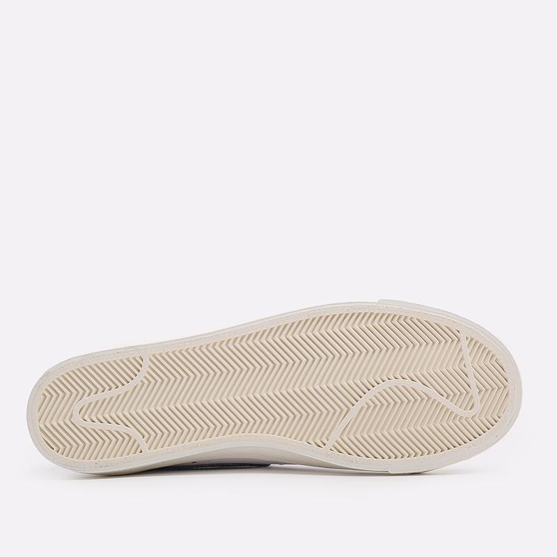 мужские белые  кроссовки nike blazer low '77 vntg DA6364-101 - цена, описание, фото 4