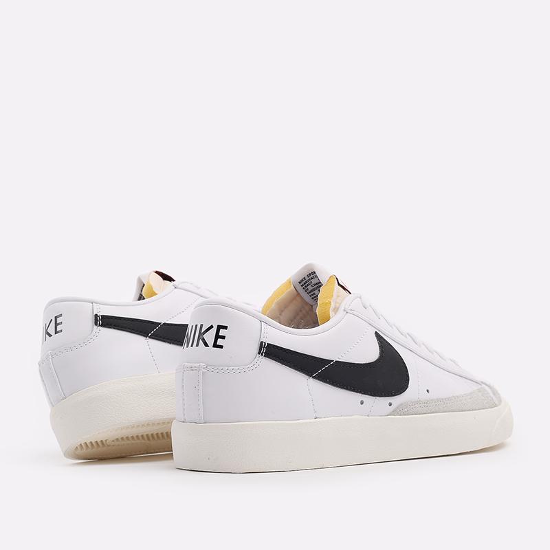 мужские белые  кроссовки nike blazer low '77 vntg DA6364-101 - цена, описание, фото 3