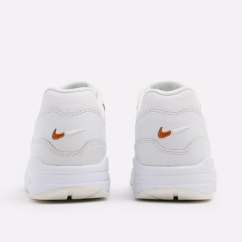 женские белые  кроссовки nike wmns air max 1 DC9204-100 - цена, описание, фото 3