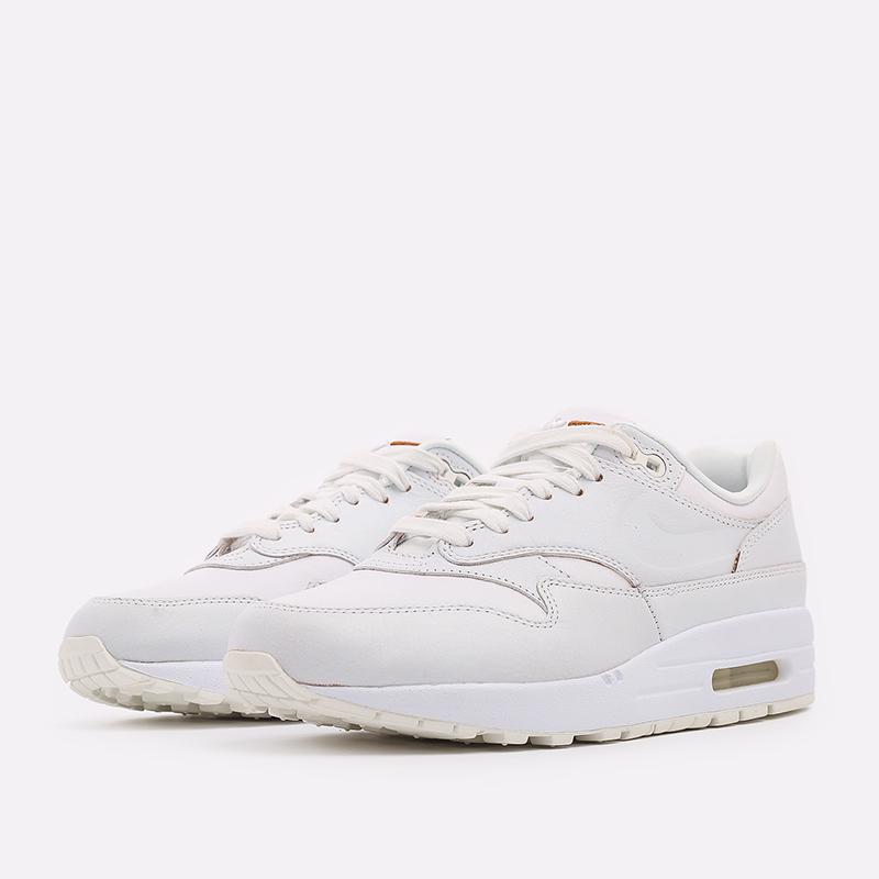 женские белые  кроссовки nike wmns air max 1 DC9204-100 - цена, описание, фото 2