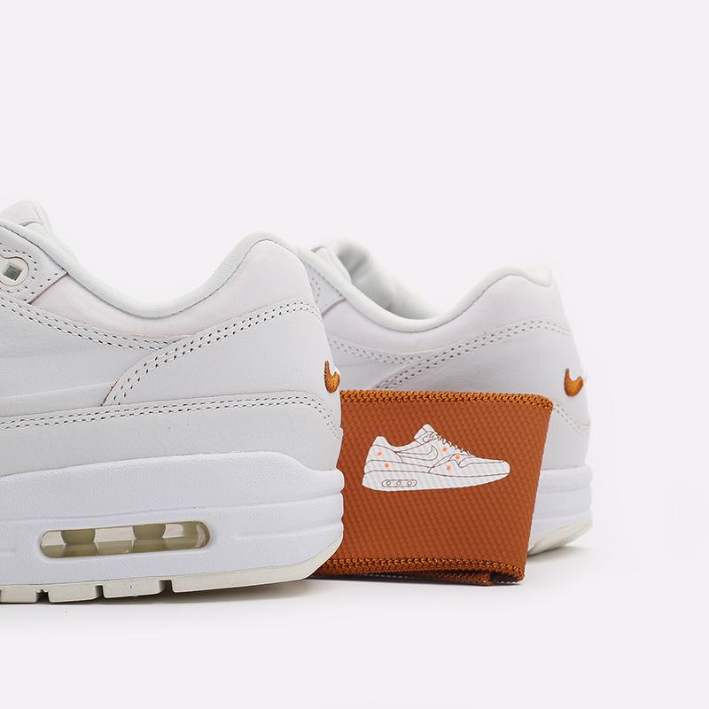 женские белые  кроссовки nike wmns air max 1 DC9204-100 - цена, описание, фото 5