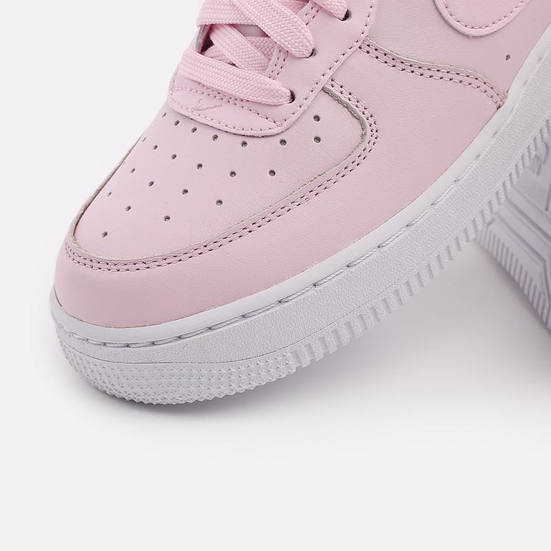 мужские розовые  кроссовки nike air force 1 '07 lx CU6312-600 - цена, описание, фото 6