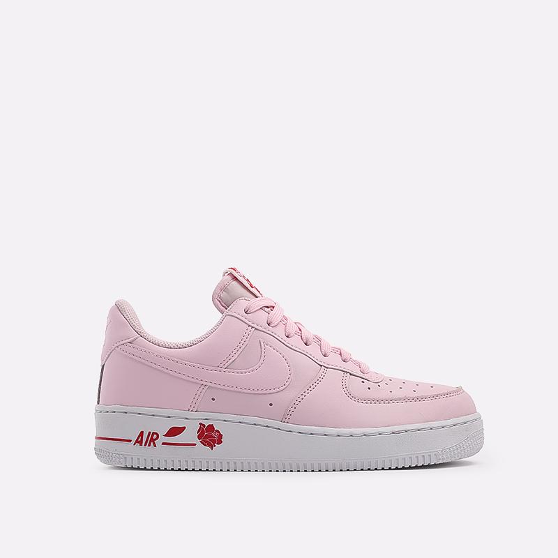 мужские розовые  кроссовки nike air force 1 '07 lx CU6312-600 - цена, описание, фото 1