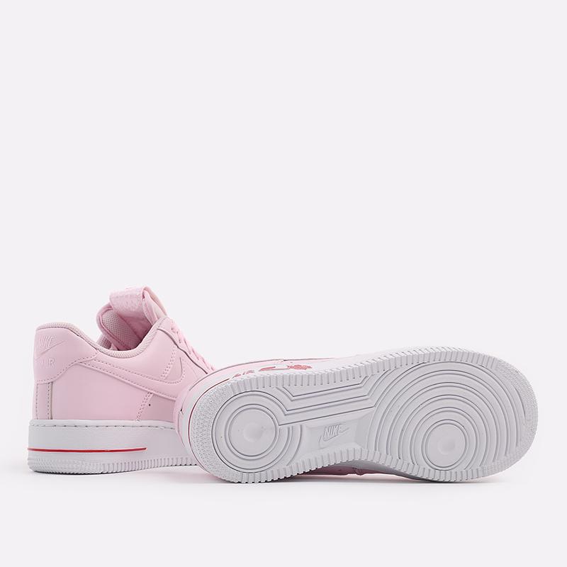 мужские розовые  кроссовки nike air force 1 '07 lx CU6312-600 - цена, описание, фото 4