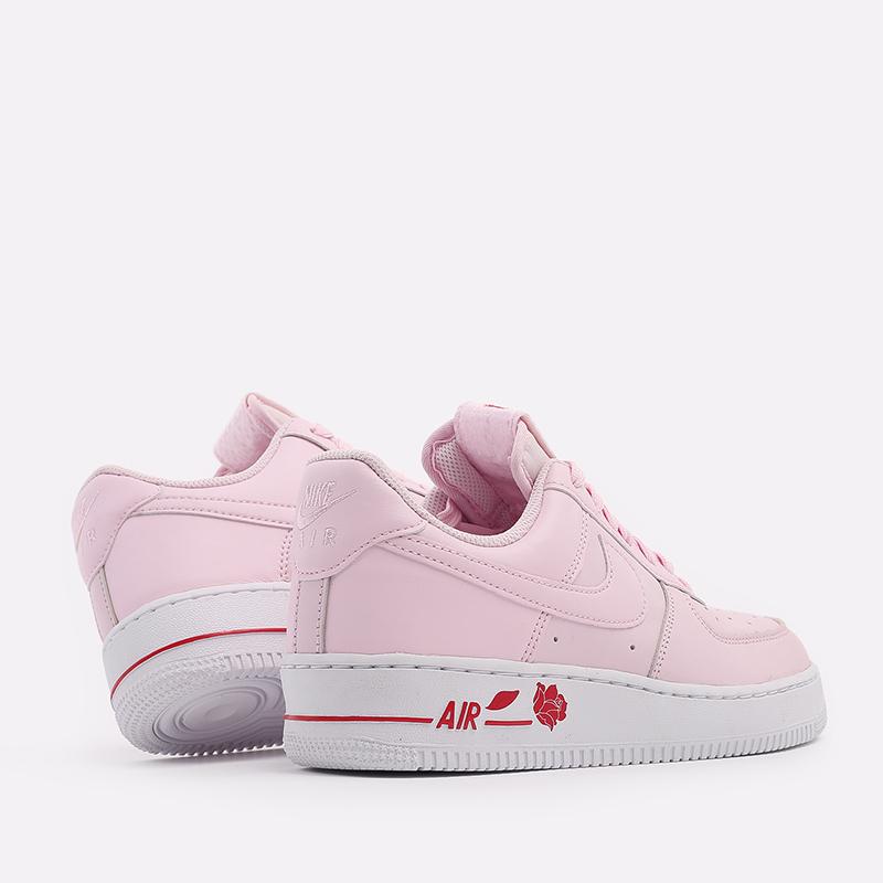 мужские розовые  кроссовки nike air force 1 '07 lx CU6312-600 - цена, описание, фото 3
