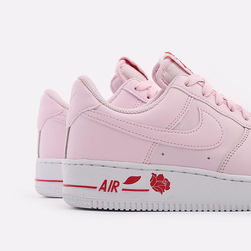 мужские розовые  кроссовки nike air force 1 '07 lx CU6312-600 - цена, описание, фото 7