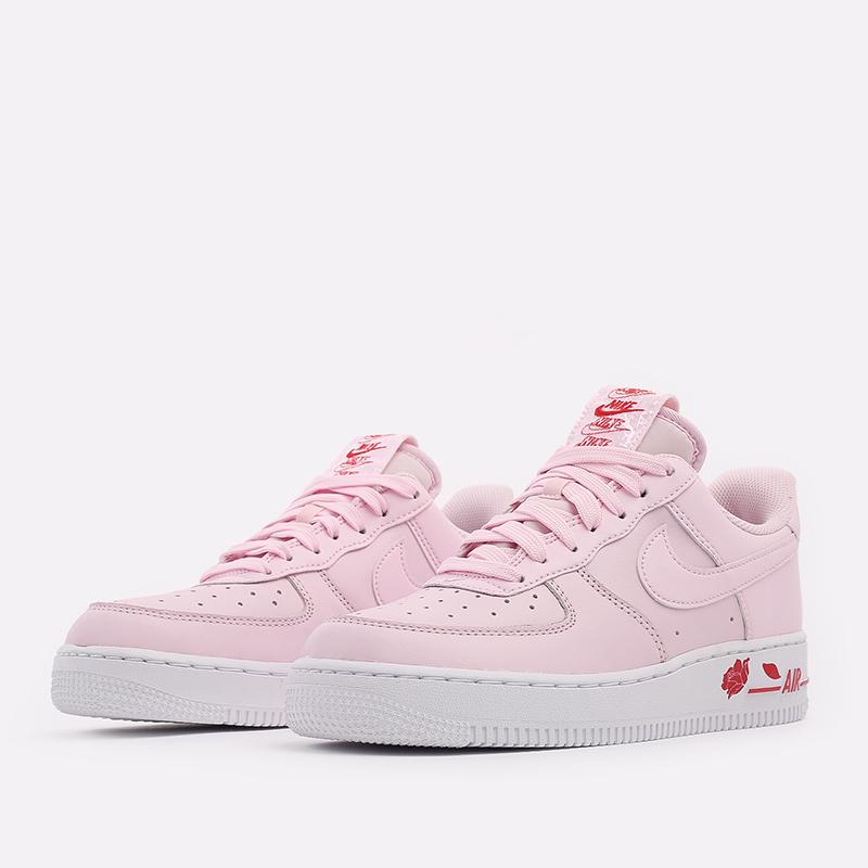 мужские розовые  кроссовки nike air force 1 '07 lx CU6312-600 - цена, описание, фото 2