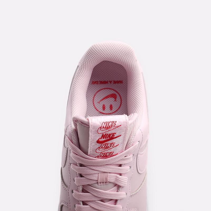 мужские розовые  кроссовки nike air force 1 '07 lx CU6312-600 - цена, описание, фото 5