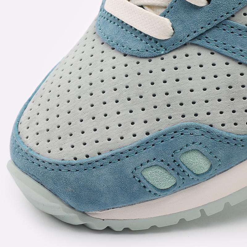 синие  кроссовки asics gel-lyte iii og 1201A164-300 - цена, описание, фото 6