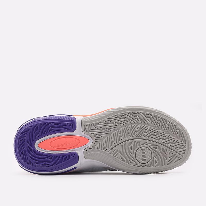 мужские белые  кроссовки puma double disc 19427701 - цена, описание, фото 3