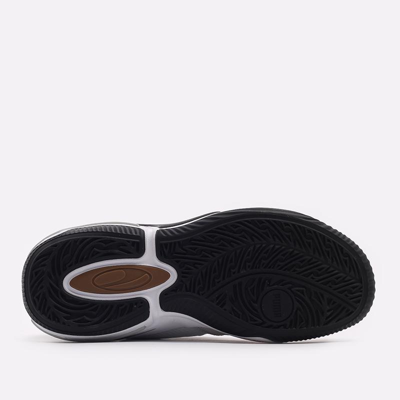 мужские белые  кроссовки puma double disc 19427702 - цена, описание, фото 3