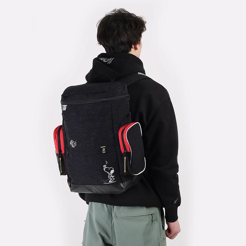 черный  рюкзак puma x peanuts backpack 07814301 - цена, описание, фото 1