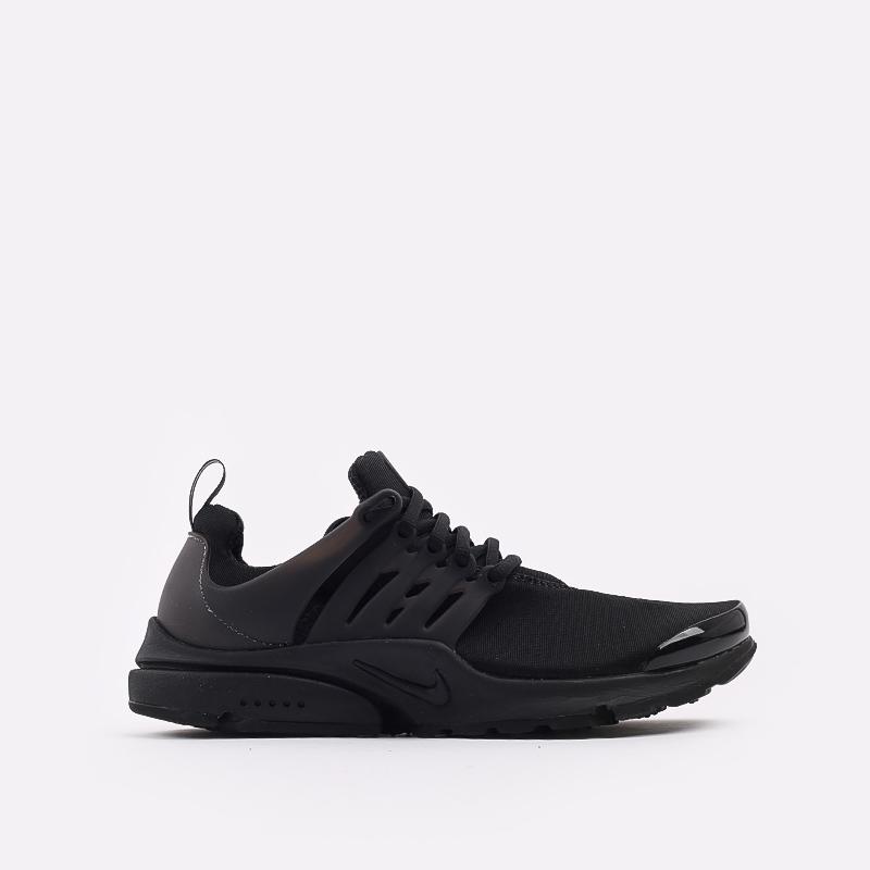 мужские чёрные  кроссовки nike air presto CT3550-003 - цена, описание, фото 1