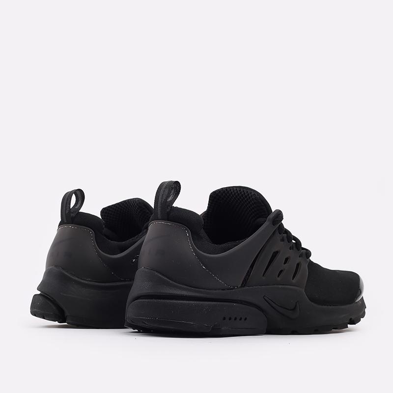 мужские чёрные  кроссовки nike air presto CT3550-003 - цена, описание, фото 3