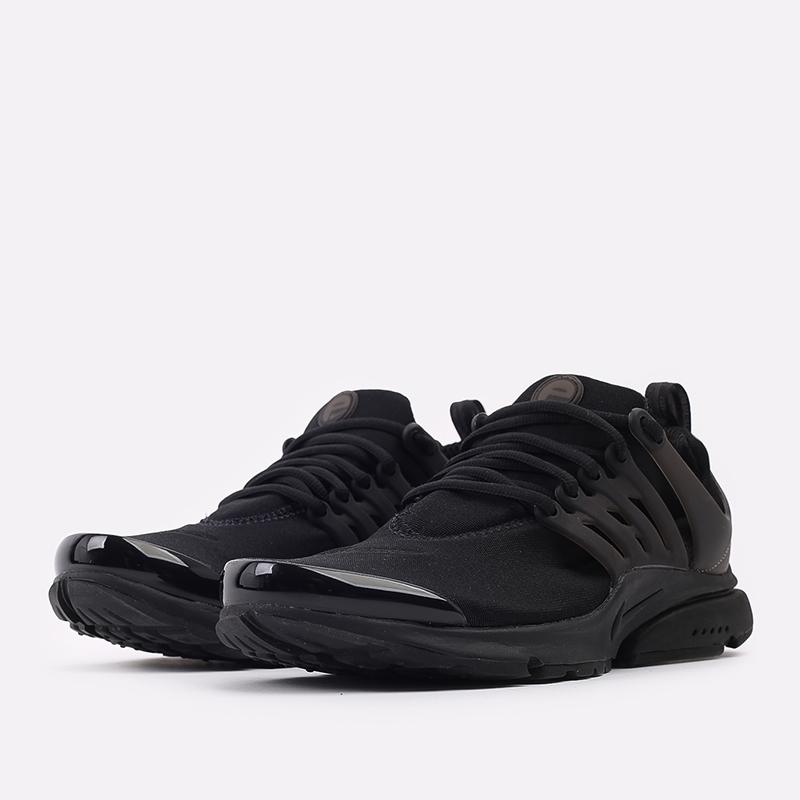 мужские чёрные  кроссовки nike air presto CT3550-003 - цена, описание, фото 2
