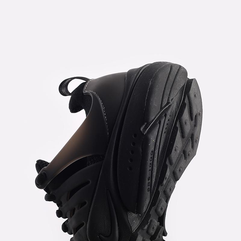 мужские чёрные  кроссовки nike air presto CT3550-003 - цена, описание, фото 6