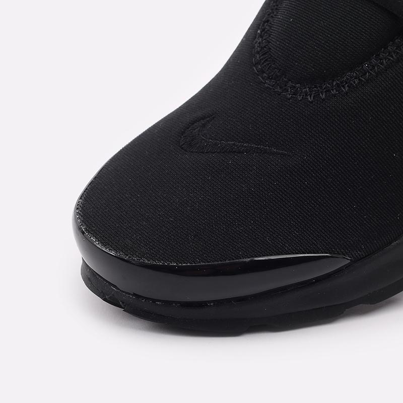 мужские чёрные  кроссовки nike air presto CT3550-003 - цена, описание, фото 7