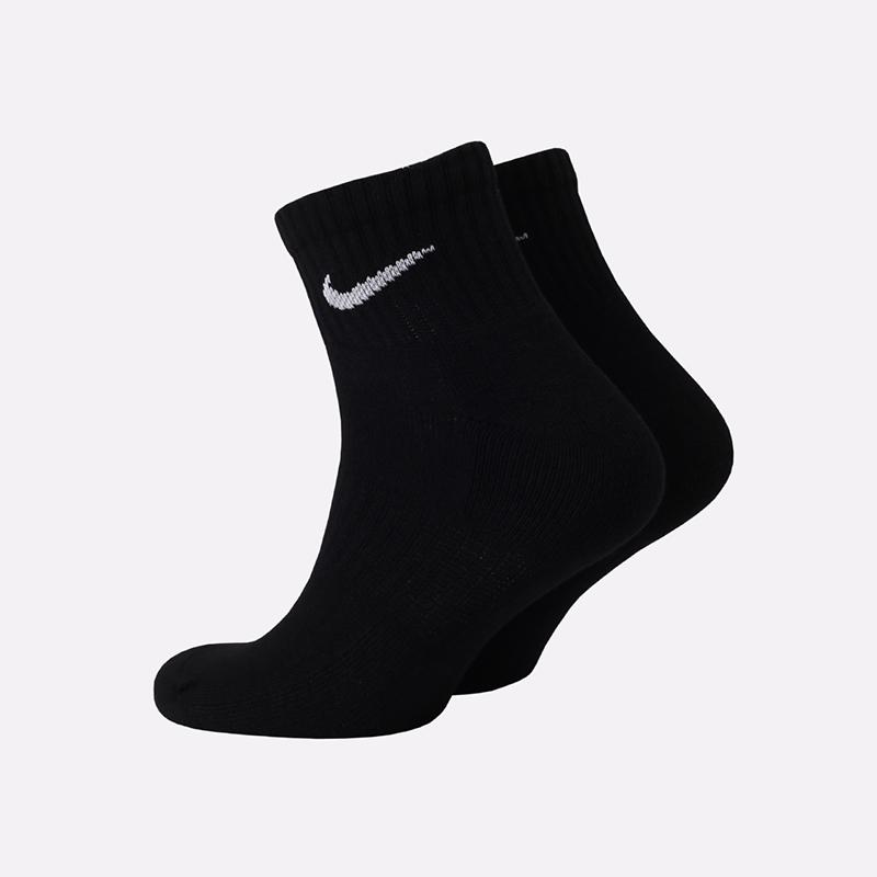 мужские чёрные  носки nike everyday ankle SX7667-010 - цена, описание, фото 2