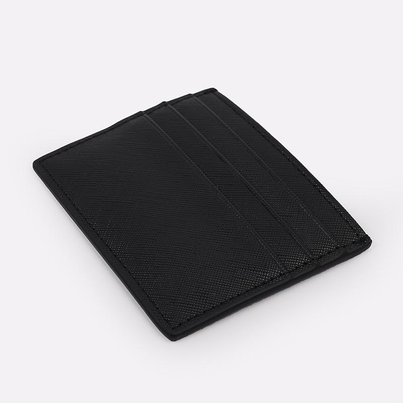 чёрную  визитница carhartt wip coated card holder I026209-black/white - цена, описание, фото 3