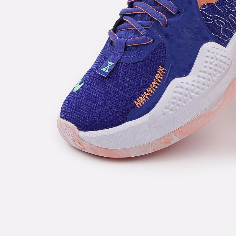 синие  кроссовки nike pg 5 CW3143-400 - цена, описание, фото 8