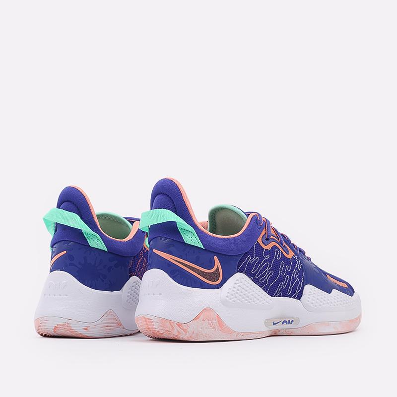 синие  кроссовки nike pg 5 CW3143-400 - цена, описание, фото 3