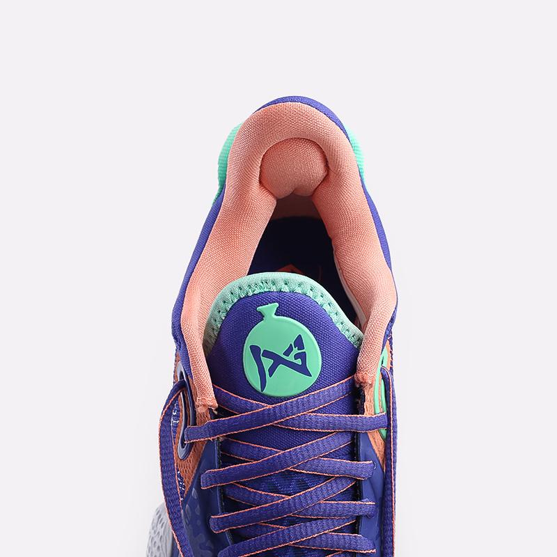 синие  кроссовки nike pg 5 CW3143-400 - цена, описание, фото 6