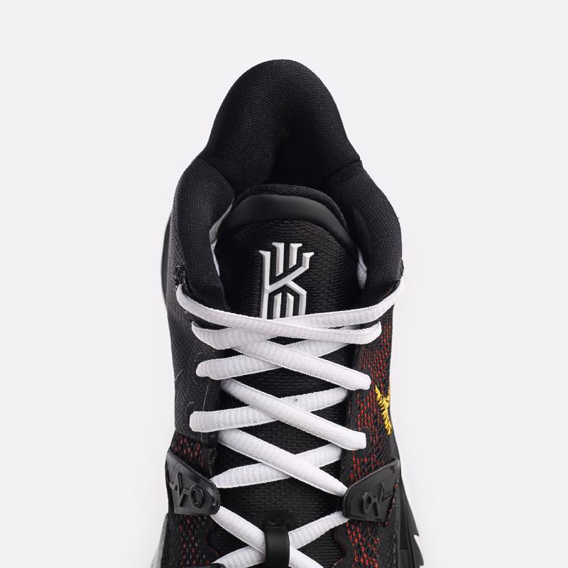 чёрные  кроссовки nike kyrie 7 CQ9326-003 - цена, описание, фото 7