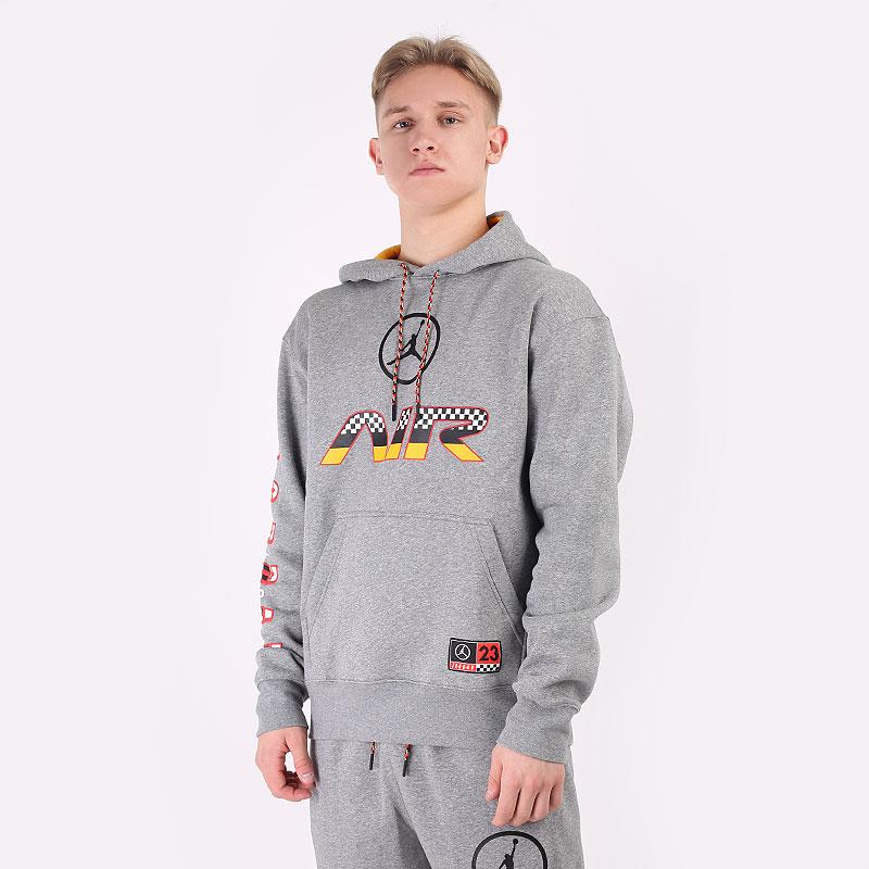 мужскую серую  толстовка jordan sport dna hbr pullover hoodie CV2984-091 - цена, описание, фото 1