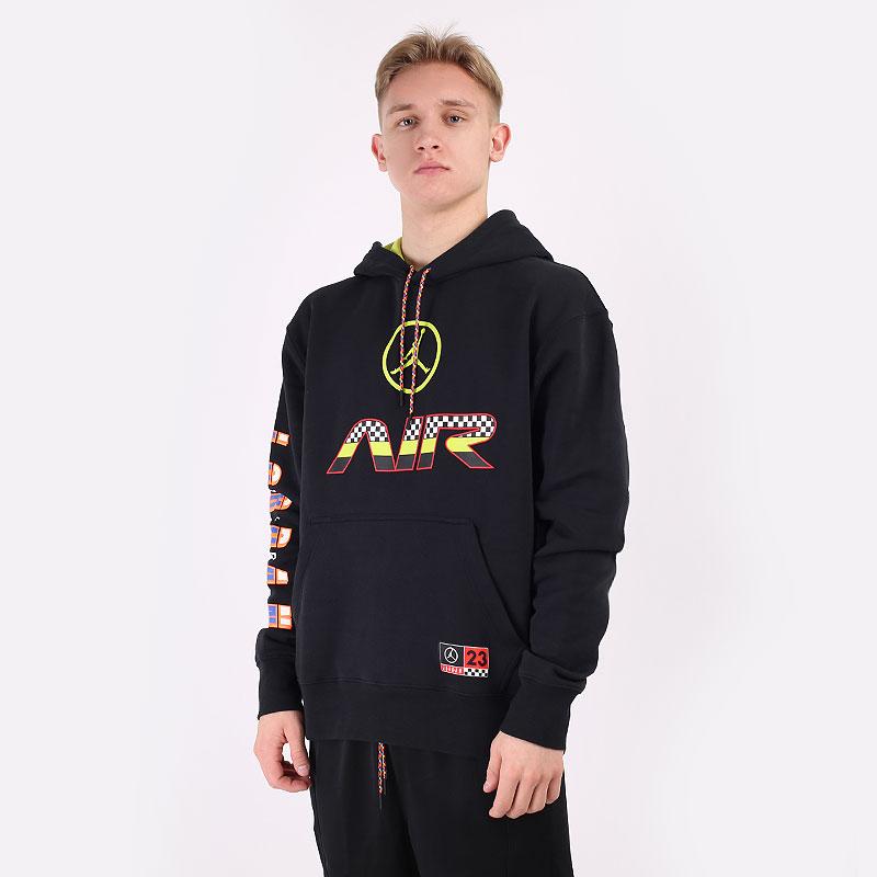 мужскую черную  толстовка jordan sport dna hbr pullover hoodie CV2984-010 - цена, описание, фото 1