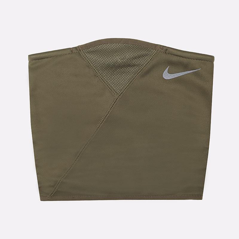 зеленый  шарф-воротник nike therma sphere neck warmer NWA63341 - цена, описание, фото 1