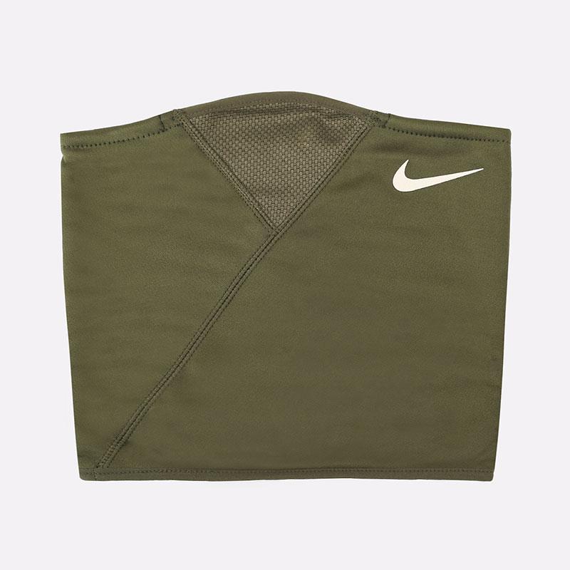 зеленый  шарф-воротник nike komin therma sphere N0003504315 - цена, описание, фото 1
