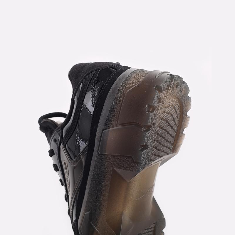 женские чёрные  кроссовки reebok club c x cardi b H01009 - цена, описание, фото 5