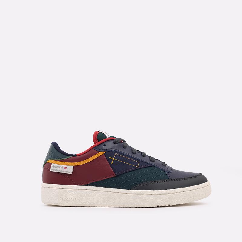 мужские разноцветные  кроссовки reebok club c 85 FY7499 - цена, описание, фото 1