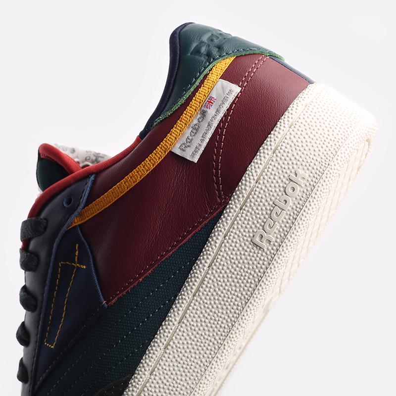 мужские разноцветные  кроссовки reebok club c 85 FY7499 - цена, описание, фото 5
