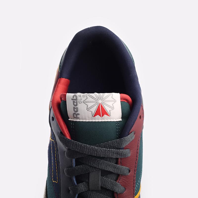 мужские разноцветные  кроссовки reebok club c 85 FY7499 - цена, описание, фото 7