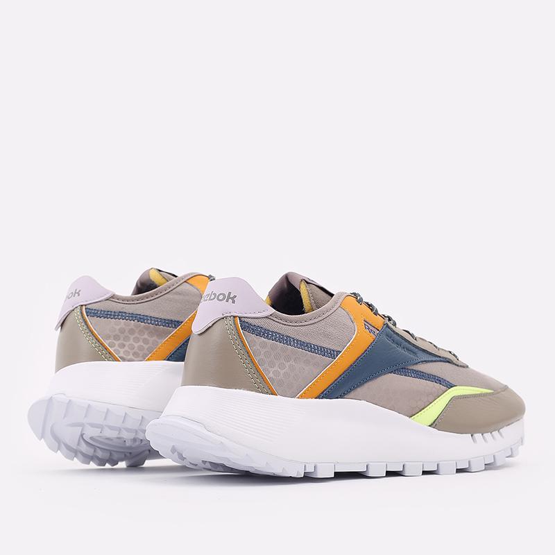 мужские бежевые  кроссовки reebok cl legacy pure FZ2922 - цена, описание, фото 4