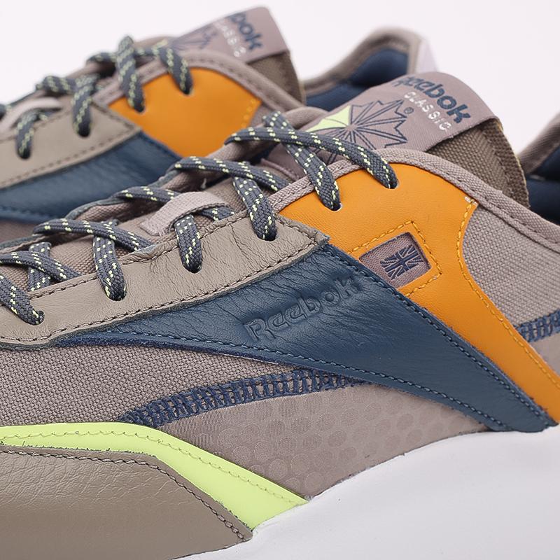 мужские бежевые  кроссовки reebok cl legacy pure FZ2922 - цена, описание, фото 7
