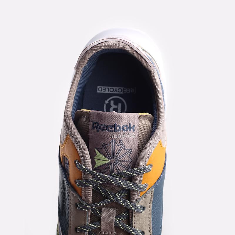 мужские бежевые  кроссовки reebok cl legacy pure FZ2922 - цена, описание, фото 5