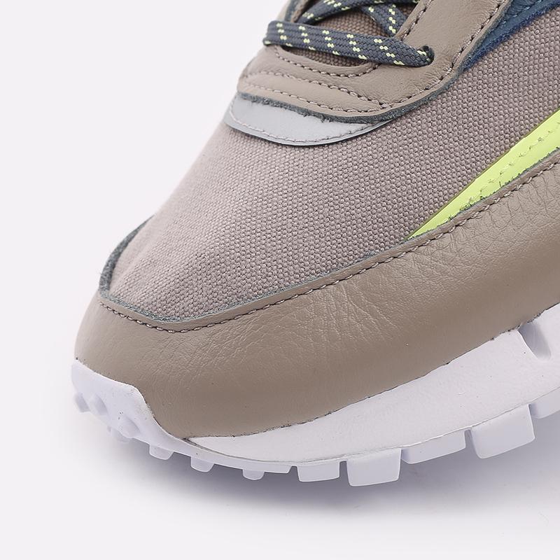 мужские бежевые  кроссовки reebok cl legacy pure FZ2922 - цена, описание, фото 6