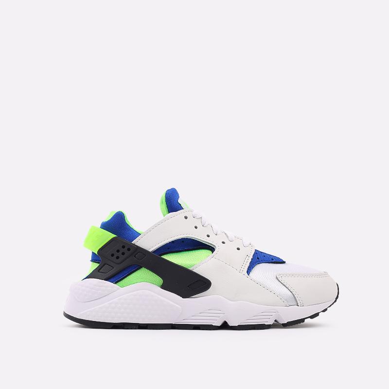 мужские белые  кроссовки nike air huarache DD1068-100 - цена, описание, фото 1
