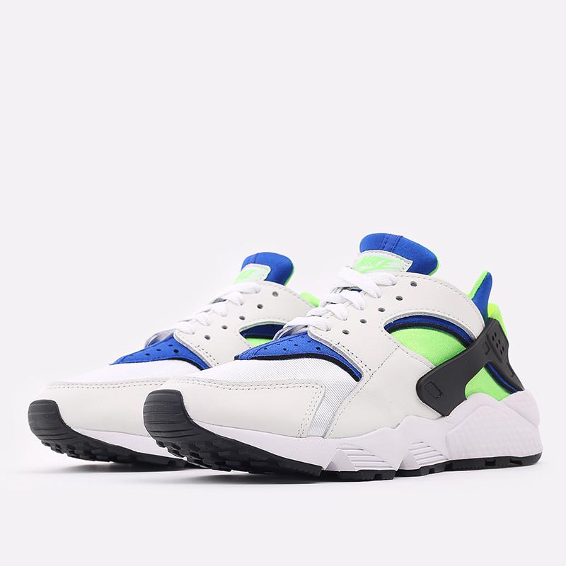 мужские белые  кроссовки nike air huarache DD1068-100 - цена, описание, фото 2