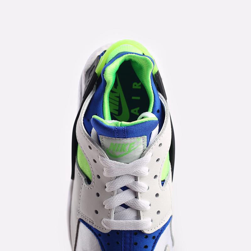 мужские белые  кроссовки nike air huarache DD1068-100 - цена, описание, фото 5