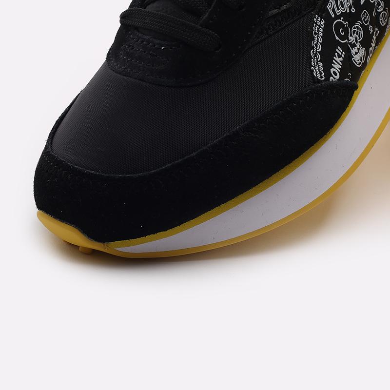 чёрные  кроссовки puma future rider x peanuts 38048301 - цена, описание, фото 8