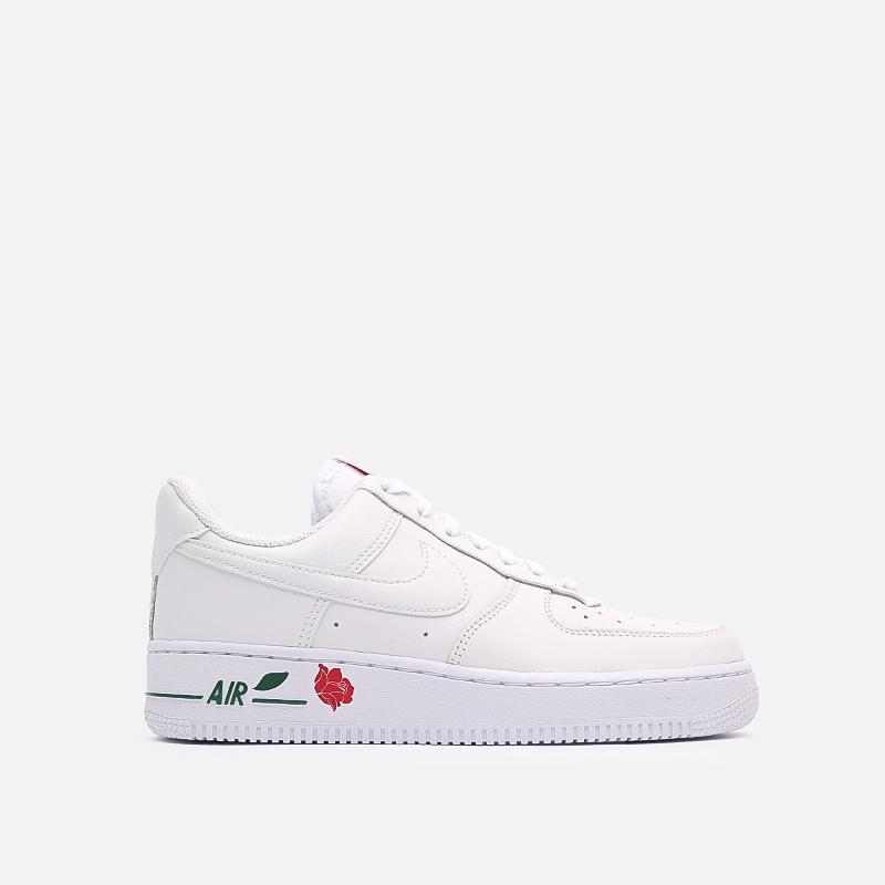 белые  кроссовки nike air force 1 '07 lx CU6312-100 - цена, описание, фото 1
