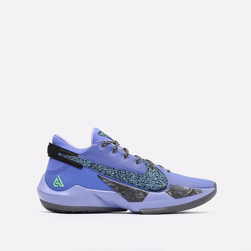 мужские синие  кроссовки nike zoom freak 2 CK5424-500 - цена, описание, фото 1
