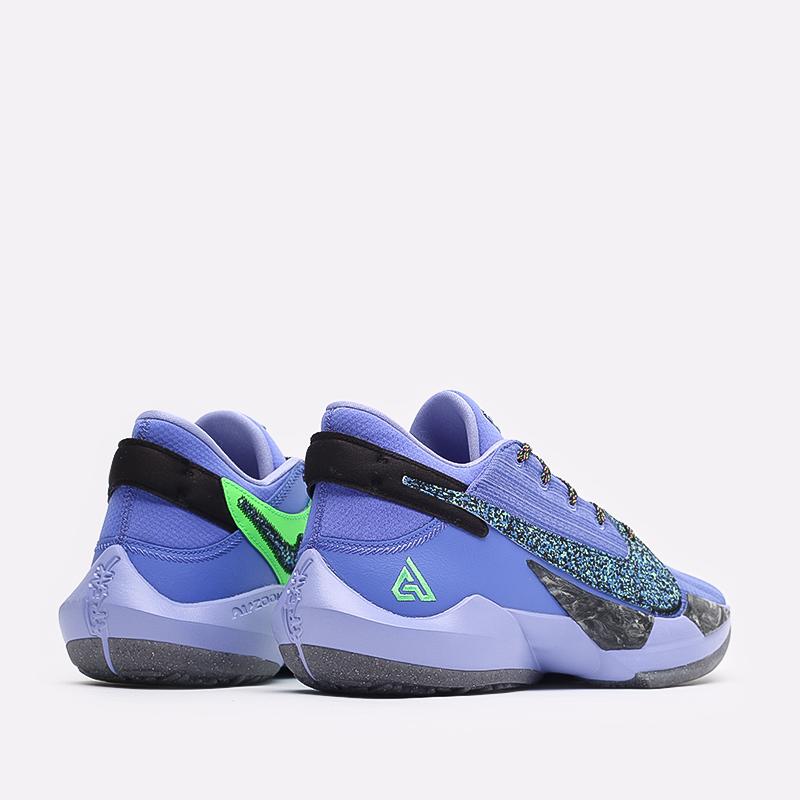 мужские синие  кроссовки nike zoom freak 2 CK5424-500 - цена, описание, фото 3