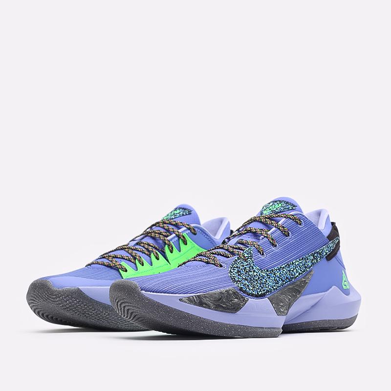мужские синие  кроссовки nike zoom freak 2 CK5424-500 - цена, описание, фото 2