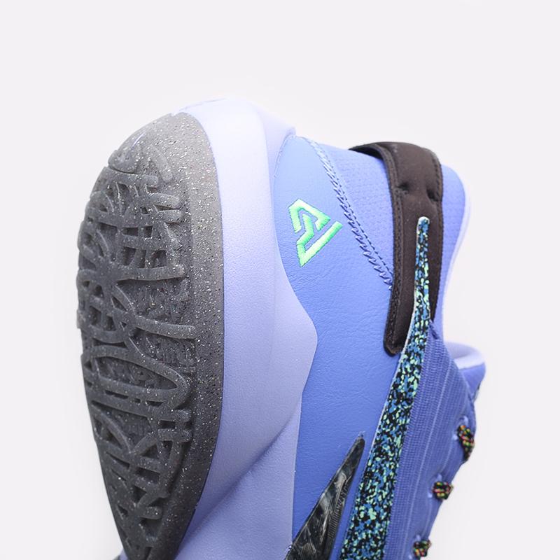 мужские синие  кроссовки nike zoom freak 2 CK5424-500 - цена, описание, фото 6